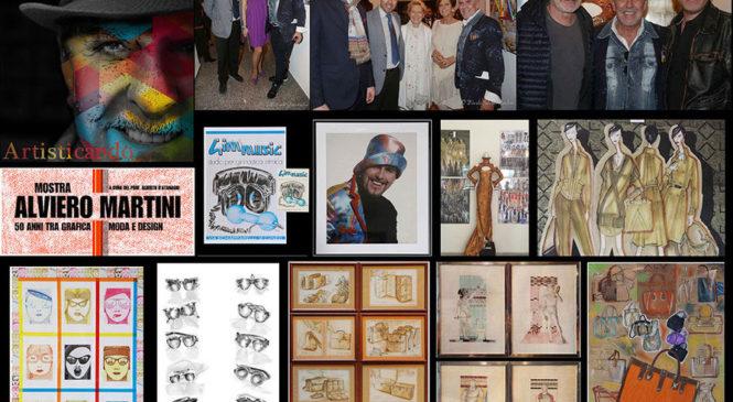 """Alviero Martini : """"50 anni di carriera tra grafica, design e moda"""""""