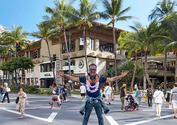 Alviero Martini: Viaggio a Honolulu