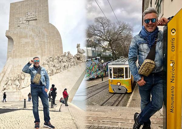 Alviero Martini, viaggio a Lisbona