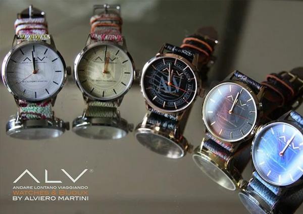 ALV Andare Lontano Viaggiando: gli orologi firmati Alviero Martini