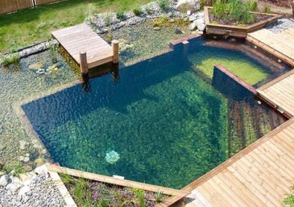 Biopiscina e biolago: alternative green alla piscina tradizionale