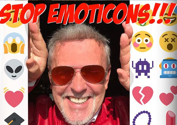 Alviero Martini e il linguaggio delle emoticons