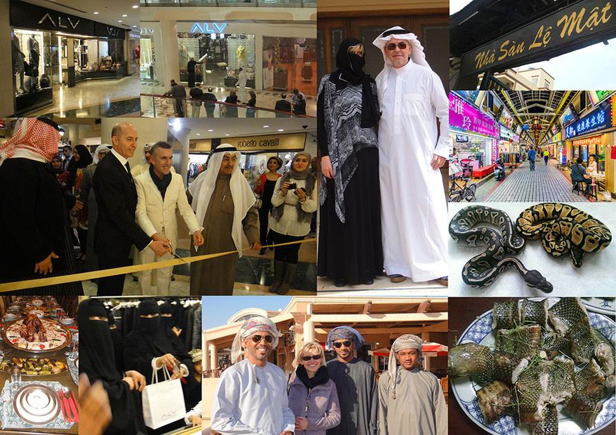 Usanze e costumi dall'Arabia al Giappone