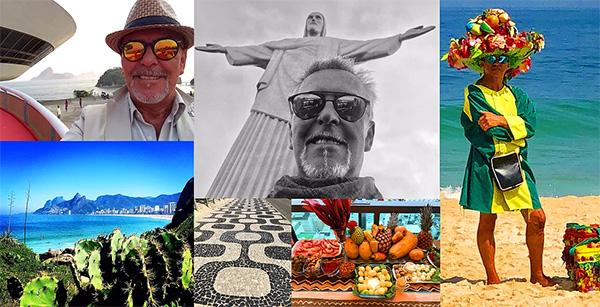 Alviero Martini, viaggio a Rio De Janeiro