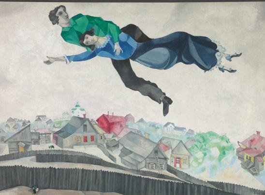 A Mantova, il mondo fluttuante di Marc Chagall