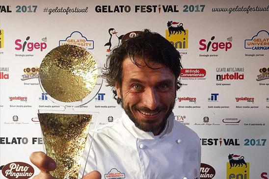 Massimiliano Scotti: Il campione europeo del gelato