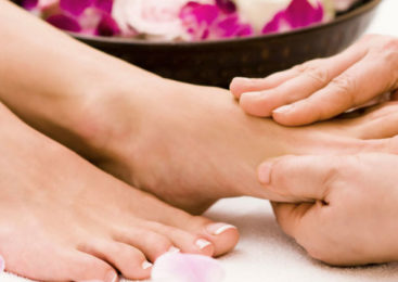 Padabhyanga: Il massaggio del piede Ayurveda