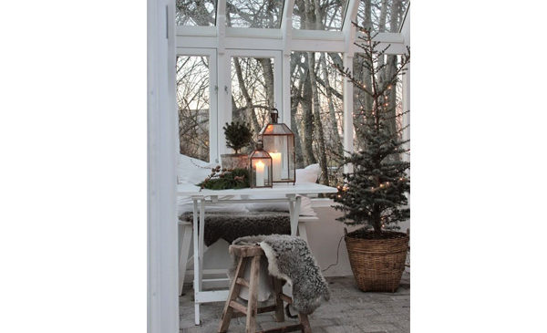 La conservatory, uno spazio di charme da vivere anche in inverno