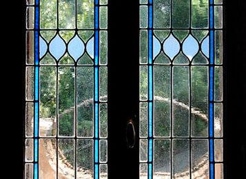 L'eleganza dei vetri Tiffany