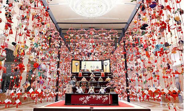 Tokyo in pink per festeggiare il Doll's Day