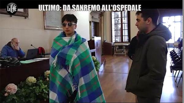 Ultimo: da Sanremo all'ospedale