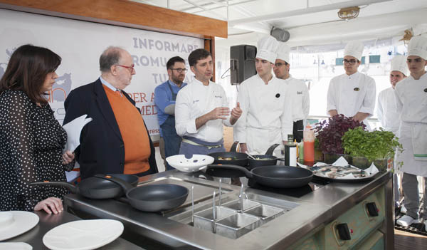 RASPELLI: a Castellammare di Stabia(Napoli)la prima tappa del Mediterranean Cooking Congress