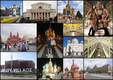Alviero Martini: Mosca prima e dopo