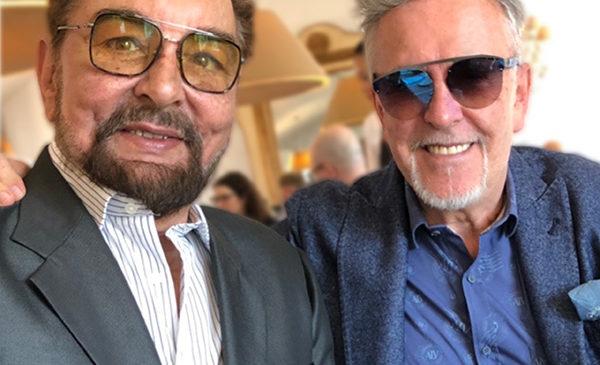 Alviero Martini incontra Kabir Bedi