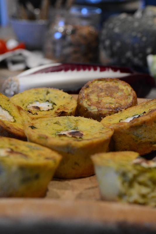 Naturalmente crudo: Muffin salati