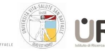 Cena benefica per U.R.I. l'Urological Research Institute dell'Ospedale San Raffaele
