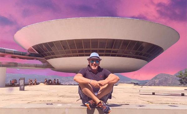 Oscar Nemeyer : da Rio de Janeiro corrispondenza di Alviero Martini