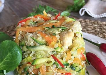 Naturalmente Crudo: Quinoa all'orientale