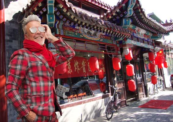Pechino express: Alviero Martini corrispondente da Pechino