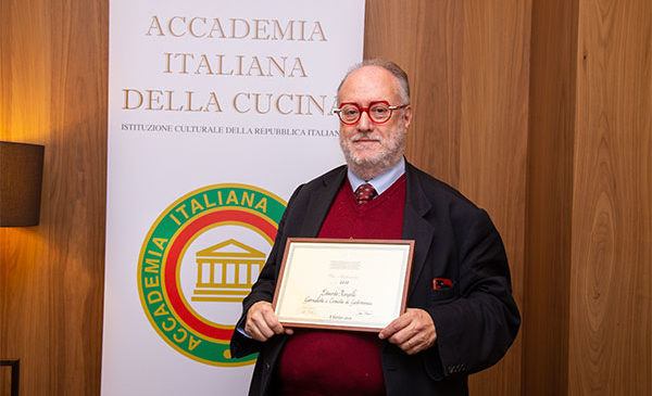 Edoardo Raspelli: i premi nazionali dell'Académie Internationale de la Gastronomie
