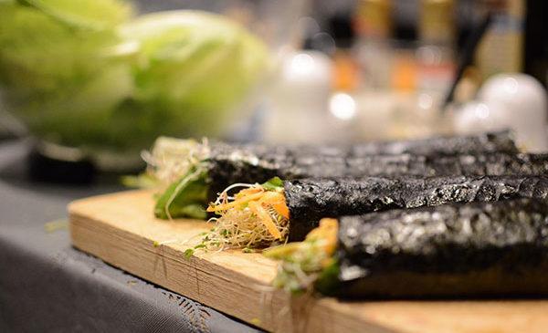 Naturalmente crudo: Sushi crudista