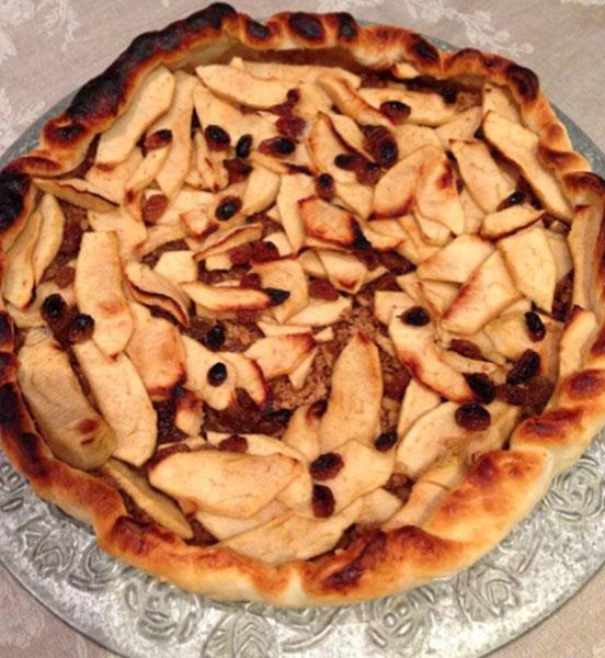 Torta di mele in pasta sfoglia