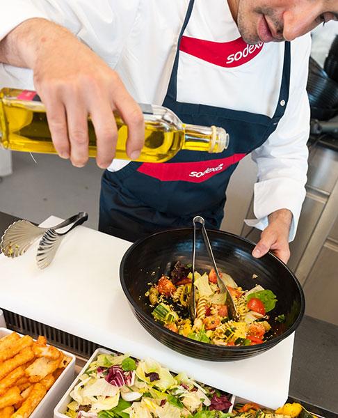 Le prelibatezze degli chef internazionali arrivano nei ristoranti aziendali
