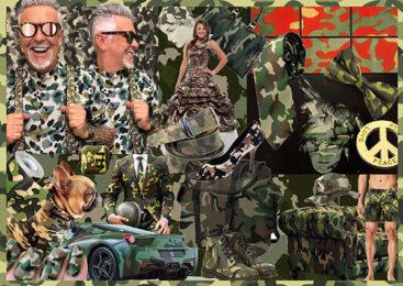 Alviero Martini: Camouflage o mimetico
