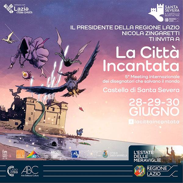 Città incantata: I disegnatori che salvano il mondo al Castello di Santa Severa