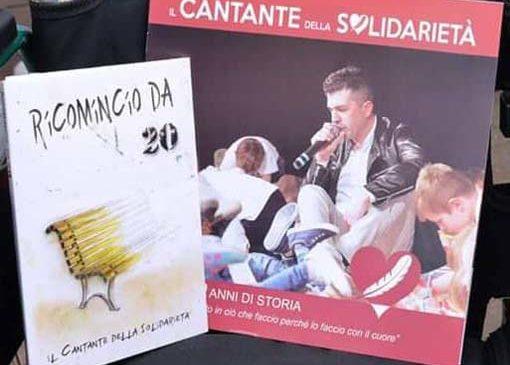 Vendita cd alle stelle per il cantante della solidarietà