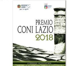 Venerdì 21 giugno alle 17 VI edizione del Premio CONI Lazio al Castello di Santa Severa
