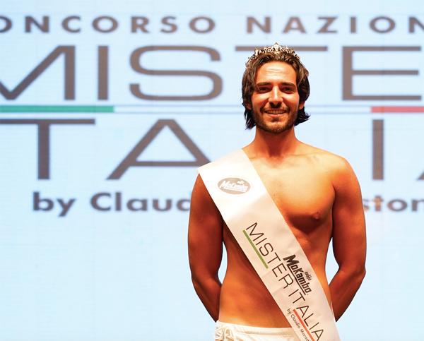 Mister Italia 2019 e' il rietino Giulio Schifi