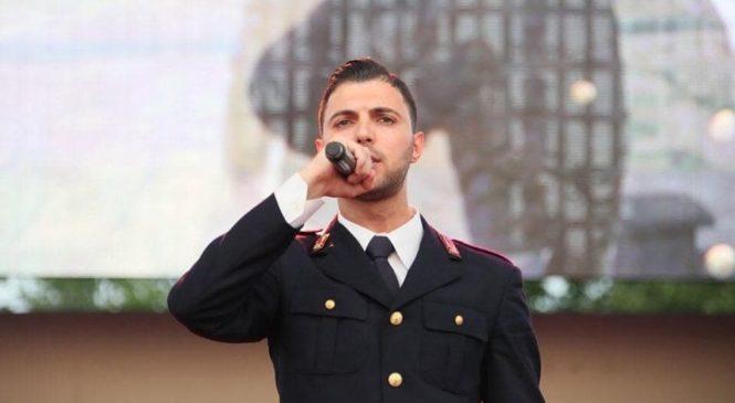 Un poliziotto rapper al Festival di Sanremo