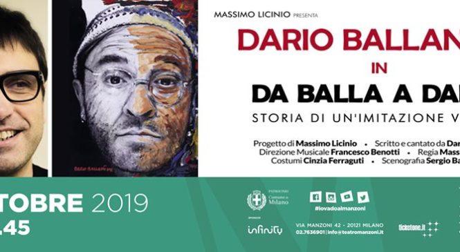 Dario Ballantini: Da Balla A Dalla