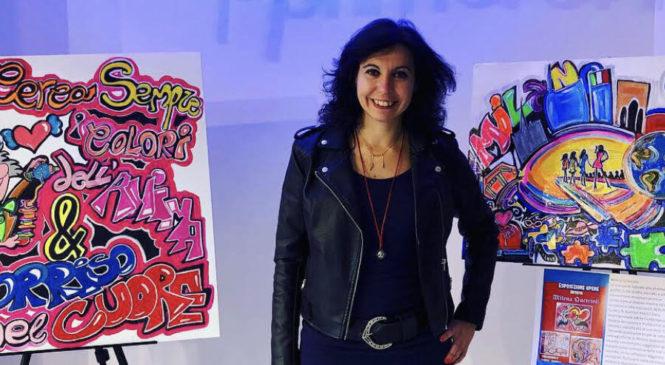 Milena Quercioli: Nella vita cerco i colori dell'anima