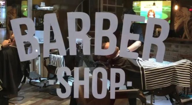 Alviero Martini: L'arte del Barber Shop