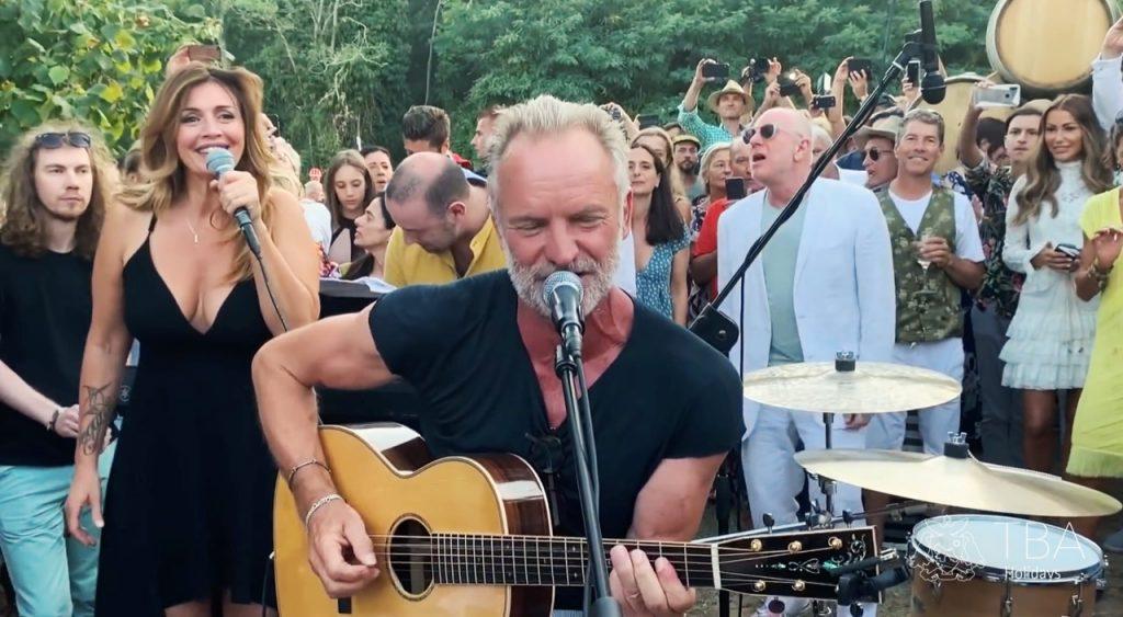 Sting: Quando una rockstar diventa una host-star