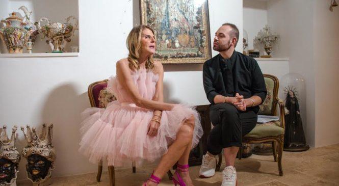 Anna Dello Russo-ospite a Fashion in Star
