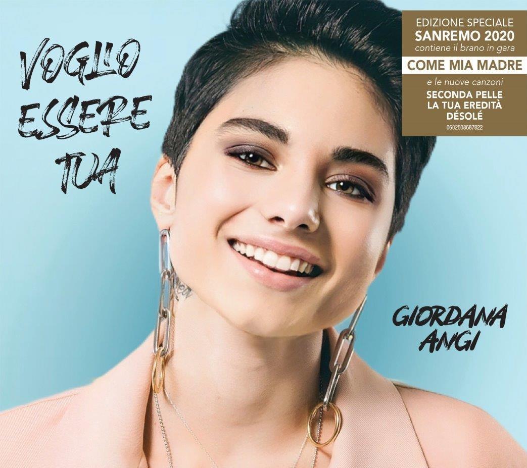 Giordana Angi – In gara al 70° Festival di Sanremo