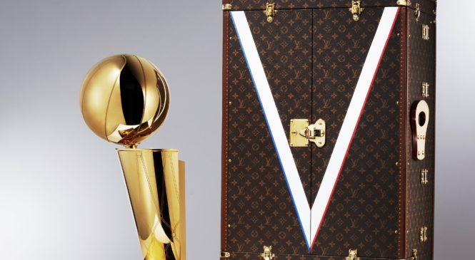 Louis Vuitton e NBA: Partnership globale e l'esclusivo baule per il Larry O'Brien Trophy