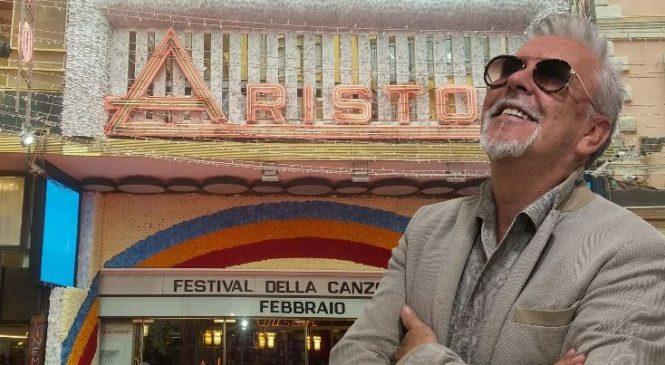 Festival di Sanremo – Alviero Martini veste un artista!
