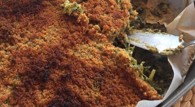 Tortino di fave e cicoria