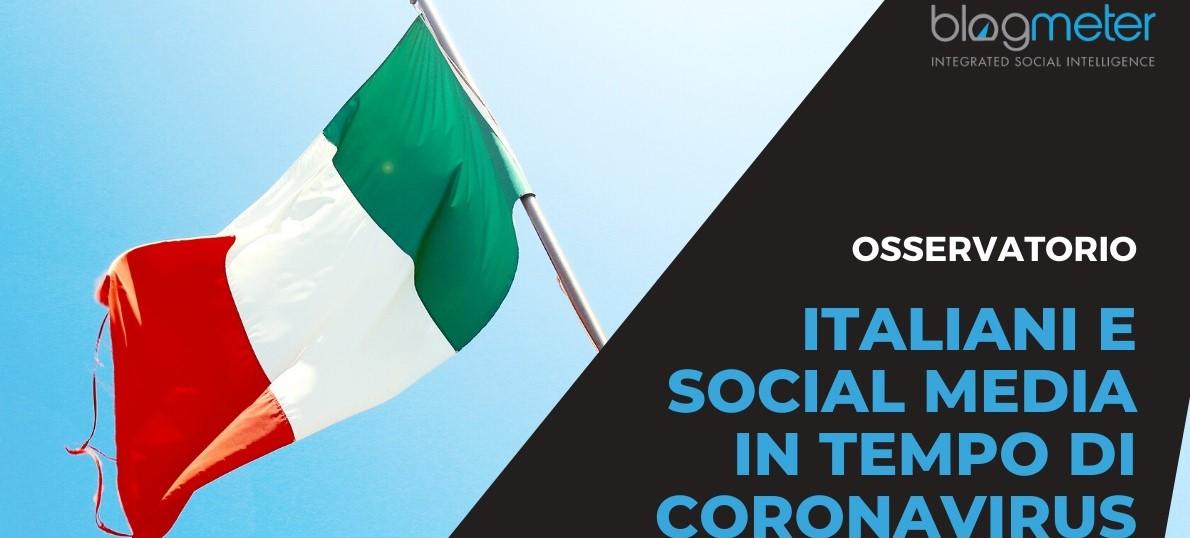 Italiani e Social Media in tempo di Coronavirus