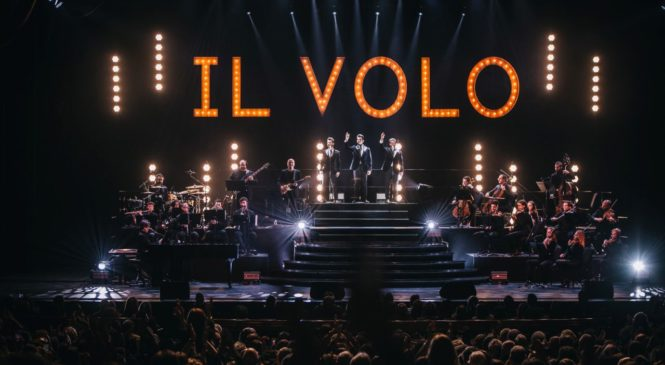 Il Volo- Sold Out a Los Angeles con 7000 spettatori!