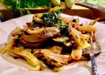 Ricetta Veg- Finocchi al Tahin