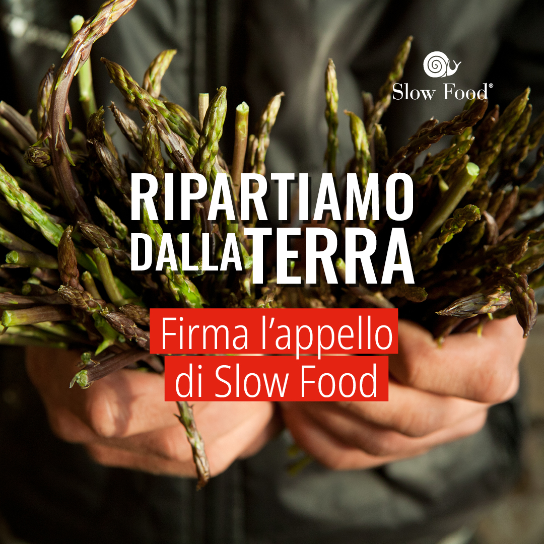 Slow Food: ripartiamo dalla terra!