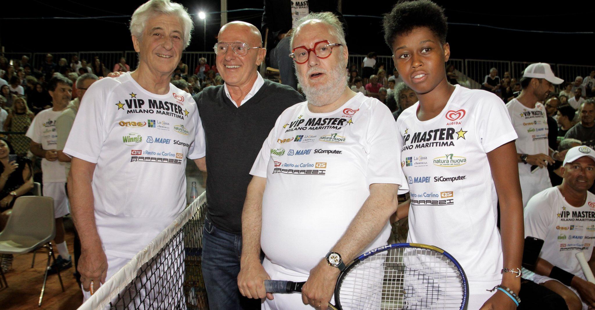 Edoardo Raspelli- Ritornano in campo i Vip Master di tennis