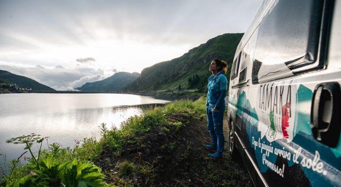 Tamara Lunger- Conquista 5 delle più alte vette italiane in camper