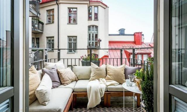 Spazi da vivere su balconi e terrazze