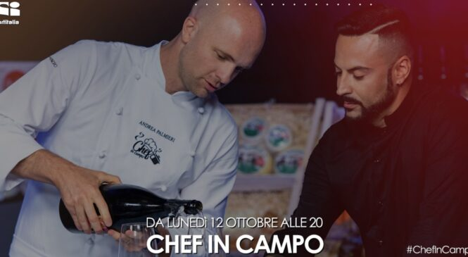 "Anthony Peth torna in Tv con ""Chef in campo"""